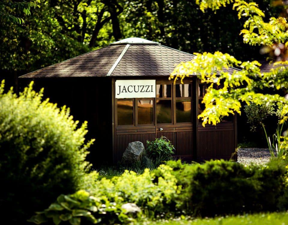Domek fiński z jacuzzi