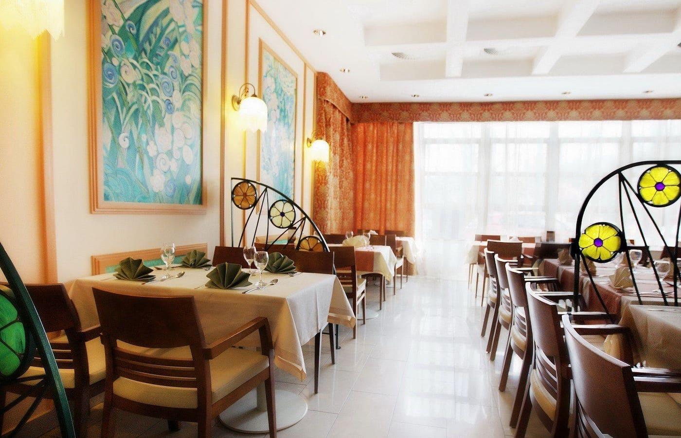 Restauracja w Termach Pałacowych