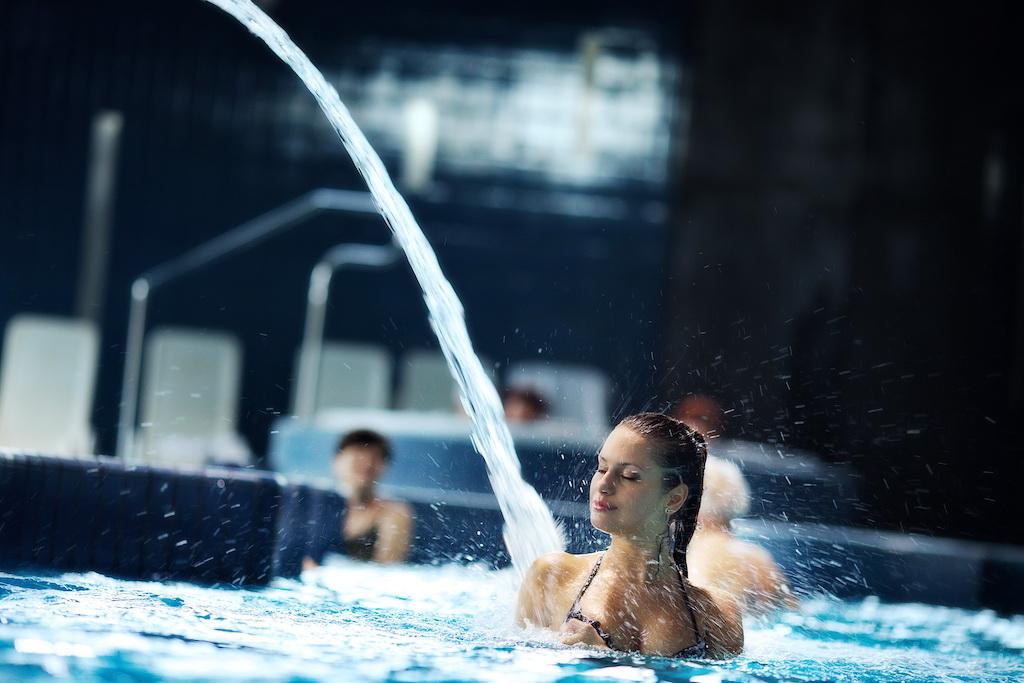 Kompleks Wodny Atrium - miejsce cieszące się niesłychaną popularnością wśród kuracjuszy nałęczowskiego kurortu.