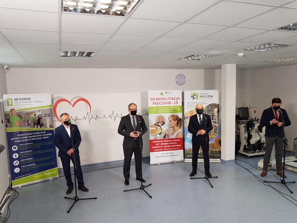 Konferencja ministra zdrowia w Uzdrowisku Nałęczów