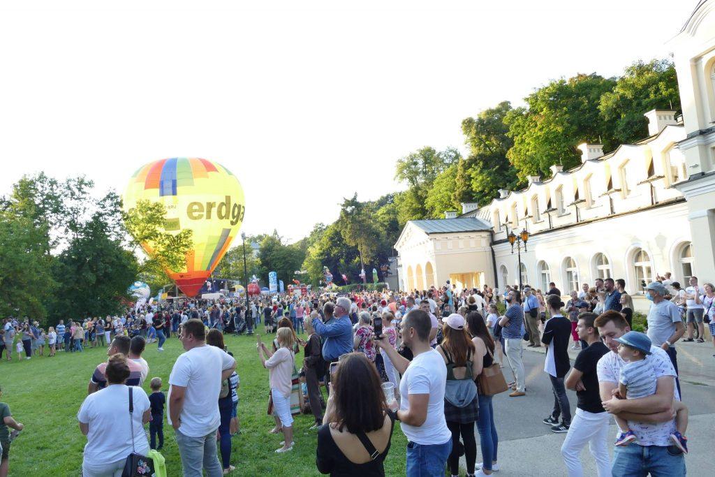 zawody balonowe w Nałęczowie